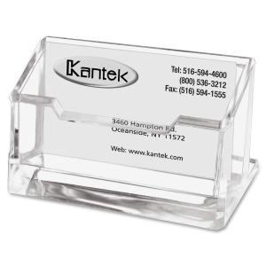 Kantek Acrylic business Card Holder