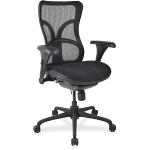 Lorell High-back Fabric Seat Chairs