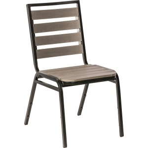 Lorell Charcoal Outdoor Chair