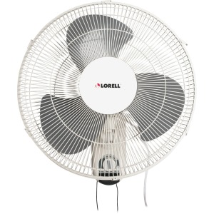 Lorell Pull-chain Wall Mounting 3-speed Fan