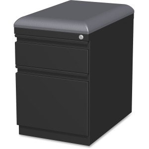 Lorell Mobile Pedestal File with Seating