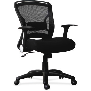 Lorell Flipper Arm Mid-back Chair