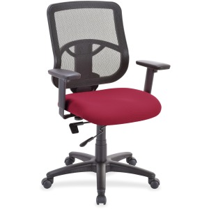 Lorell Managerial Mid-back Chair