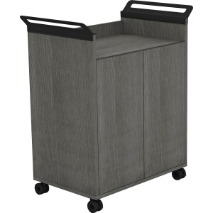Lorell Laminate Mobile Storage Cabinet