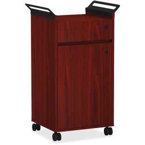 Lorell Mobile Storage Cabinet with Drawer