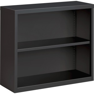 Lorell Fortress Series Charcoal Bookcase