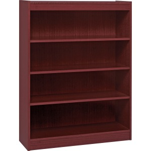 Lorell Panel End Hardwood Veneer Bookcase