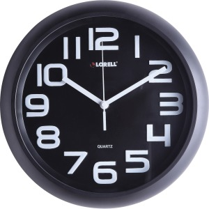 "Lorell 11-5/8"" Quiet Wall Clock"