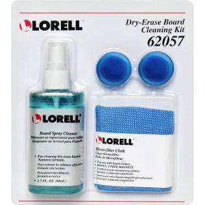 Lorell Dry-erase Board Cleaning Kit