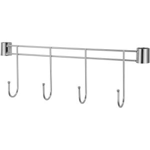 "Lorell Industrial Wire Shelving 18"" Hook Rack"