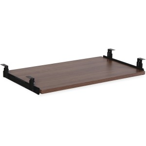 Lorell Essential Series Walnut Laminate Keyboard Tray
