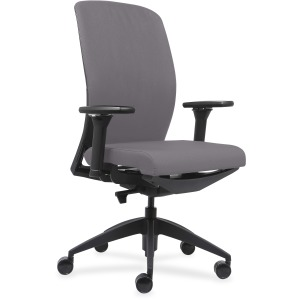 Lorell Executive Chairs with Fabric Seat & Back