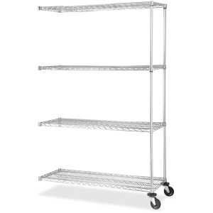 Lorell Industrial Wire Shelving Add-on Unit