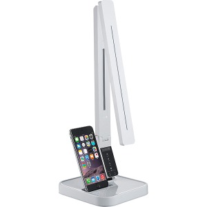 Lorell iPhone Station LED Desk Lamp