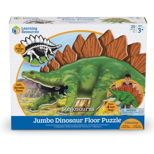 Learning Resources Jumbo Dinosaur Floor Puzzle - Stegosaurus