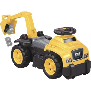 Mega Bloks Ride On CAT Excavator Truck Set
