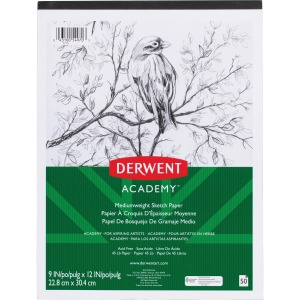 Mead Academy Medium-weight Sketch Pad
