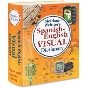 Merriam-Webster Spanish-English Visual Dictionary Printed Book