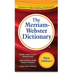 Merriam-Webster Dictionary Printed Book