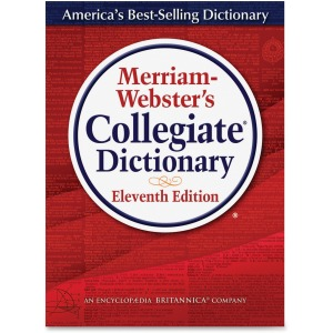 Merriam-Webster 11th Edition Collegiate Dictionary Printed/Electronic Book