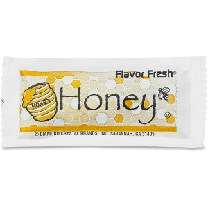 Diamond Crystalflavor Fresh Honey Pouches, .317Oz Packet, 200/Carton