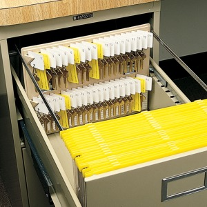 MMF File Drawer Key Rack
