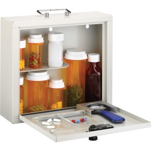 MMF Deluxe Steel Medication Case