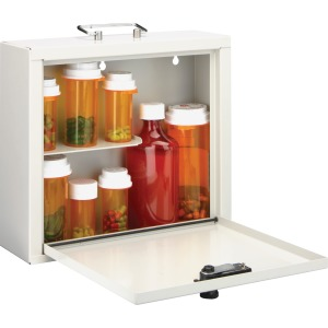 MMF Standard Steel Medication Case