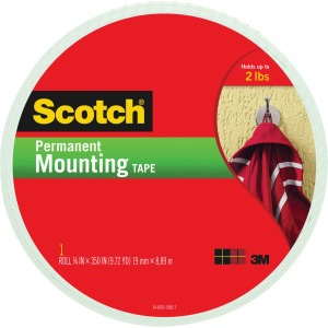 "Scotch® Mounting Tape, 3/4"" x 350"""