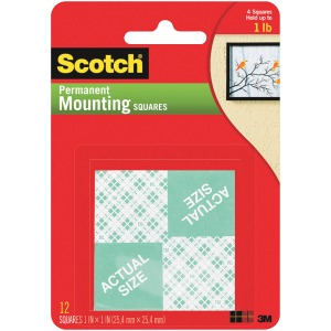 Scotch Foam Mounting Squares