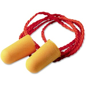 3M 1110 Corded Foam Earplugs