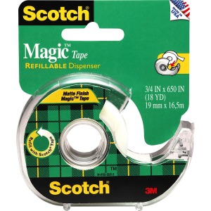 Scotch Dispensing Matte Finish Magic Tape