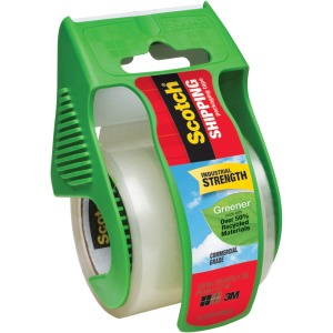 "Scotch® Shipping Packaging Tape - Greener Commercial Grade. 1.88"" x 66.6'"