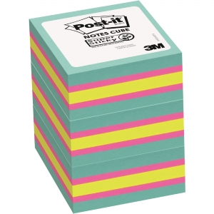 Post-it® Super Sticky Notes Cubes