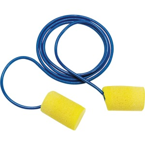 Aearo Corded Foam Earplugs