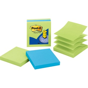 "Post-it® Pop-up Notes, 3"" X 3"" Jaipur Collection"