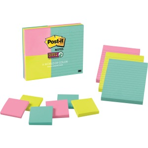 Post-it® Miami Colors Super Sticky Notes Combo