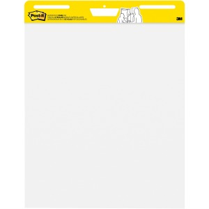 Post-it Self-Stick Easel Pads, 25 in x 30 in, White