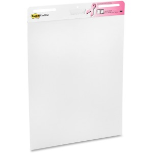 "Post-it® Easel Pad, 25 "" x 30 "", White"
