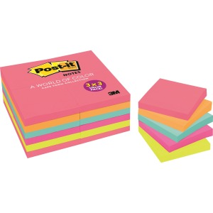 Post-it® Cape Town Color Collection Value Pack