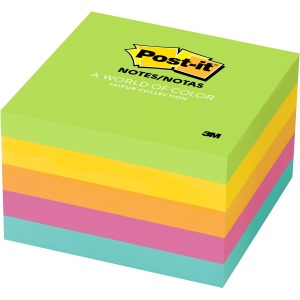 "Post-it® Notes, 3"" x 3"" Jaipur Collection"