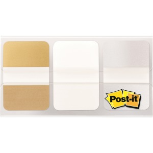 Post-it® Metallic Color Tabs