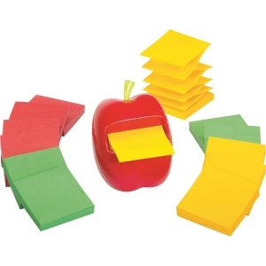 Post-it® Pop-up Note Apple Shape Dispenser