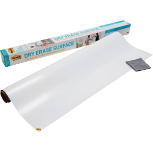 Post-it Self-Stick Dry Erase Film Surface, 36 x 24, White