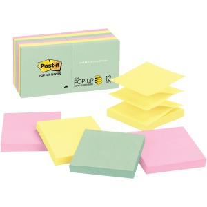 "Post-it® Pop-up Notes, 3""x 3"", Marseille Collection"