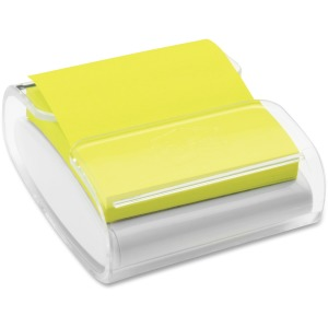 Post-it® Pop-up Note Dispenser, White/Translucent