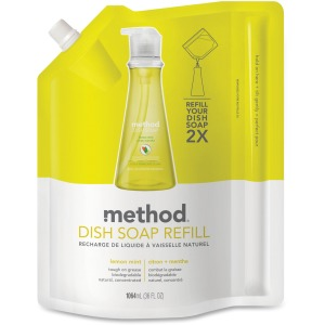 Method Lemon Mint Dish Soap Refill