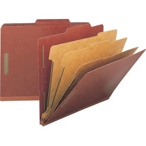 Nature Saver Kraft Divider Recycled Classification Folders