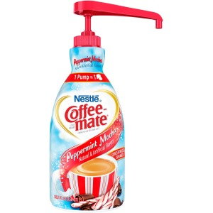 Nestlé® Coffee-mate® Coffee Creamer Peppermint Mocha - 1.5L liquid pump bottle