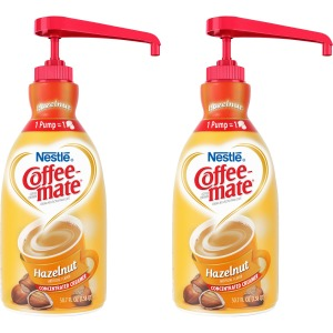 Coffee-Mate Coffee Creamer Hazelnut - 1.5L Liquid Pump Bottle